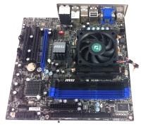 MSI 760GM-E51 ANAKART +AMD-3365 2.30GHZ İŞLEMCİ+FAN