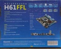 ESONIC INTEL H61 DDR3 1155P PS/2 O/B VGA HDMI ANAKART
