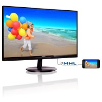 "Philips 274E5QHSB/00 5ms (Analog+HDMI/MHL) 27"" Full HD IPS Monitör"