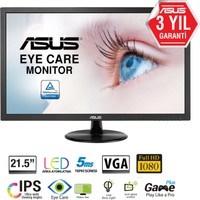 "ASUS VP228DE 21.5"" 5ms VGA LED FULL HD Monitör"
