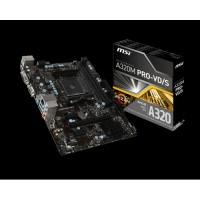 MSI AMD A320 AM4 DDR4 3200MHz VGA/DVI Anakart A320M-PRO-VD