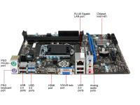 MSI H81M-E33 SC-1150,H81,SES,DDR3 VGA,HDMI ANAKART