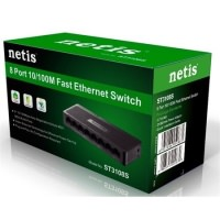 NETİS ST3108S 8 PORT 10/100 SWİTCH