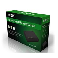 NETİS ST3116P 16 PORT FAST ETHERNET SWİTCH