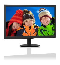 Philips 243V5LHSB5/01 23.6'' 1ms (Analog+DVI+HDMI) Full HD LED Monitör
