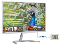 "Philips 246E7QDSW/00 23.6"" 5ms (Analog+DVI-D+HDMI/MHL) FHD IPS Monitör"
