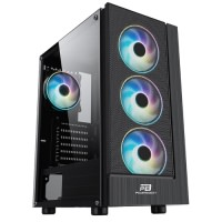 POWERBOOST VK-P3301B 500W USB 3.0 ATX FİXED LED FAN