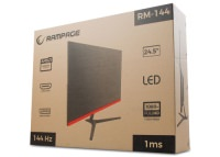 "Rampage RM-144 24.5"" 144Hz Freesync Technology Flat Oyuncu Monitörü"