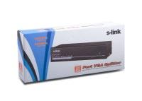 S-link SL-5508 500Mhz 8 VGA Monitör Çoklayıcı