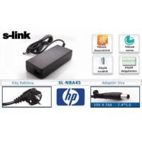 S-link SL-NBA45 19V 4.74A 7.4*5.0 HP Compaq Notebook Adaptör