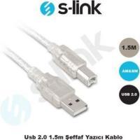 S-LINK SL-U2015 Usb2.0 1.5mt Yazıcı Kablo