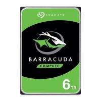 "Seagate Barracuda ST6000DM003 3.5"" 6TB Sata 3.0 256MB Cache 5400Rpm Harddisk"