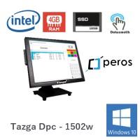 "Tazga Dpc-1502w Intel J1900 4GB Ram 120GB Ssd W10 Peros 15"" Dokunmatik Pos Pc"