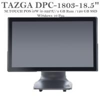"TAZGA DPC-1803 İ3-3227U/4GB/120GB/18.5""/WİN10 M.TOUCH POS PC"