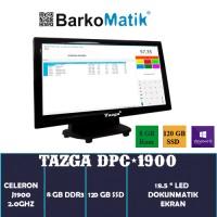 "Tazga Dpc-1803 Intel J1900 8GB Ram 120GB Ssd W10 Pro 18.5"" Dokunmatik Pos Pc"