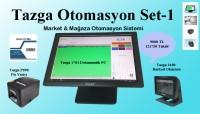 TAZGA MARKET & MAĞAZA OTOMASYONU 4 LU SET 1
