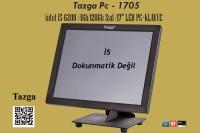 """Tazga Pc-1705 Intel İ5-6200 4GB Ram 120GB Ssd Klavyeli 17"""" Pos Pc"""