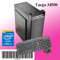 TAZGA PC 34500 INTEL İ3 - 4 GB - 500 HDD - KLAVYE  - MOUSE PC