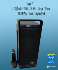 Tazga PC [54120] Intel i5 4GB 120GB SSD Klavye-Mouse Hazır Kasa