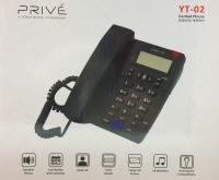 PRIVE YT-02 KABLOLU MASAÜSTÜ TELEFON