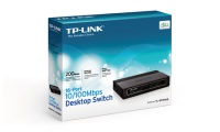 TP-LINK TL-SF1016D 16-Portlu 10/100Mbps Switch