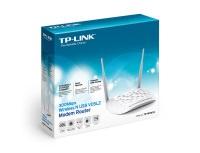 TP-LINK TD-W9970 300Mbps Kablosu N USB ADSL/VDSL2 4 PORT Modem Router