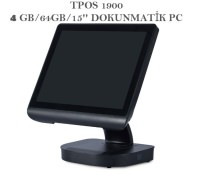 TPOS 15J19R4S64SP2 J1900/4GB/64GB/15'' DOKUNMATİK  PC
