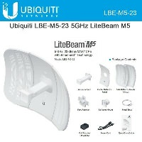 Ubiquiti LiteBeam M5 CPE-LBE-M5-23 Wireless Anten