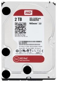 """WD Red 2TB 64MB 3.5"""" Nas Harddisk (WD20EFRX)"""