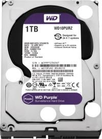 """WD 3.5"""" 1TB Purple 64MB Güvenlik Harddisk 7/24 (WD10PURZ)"""