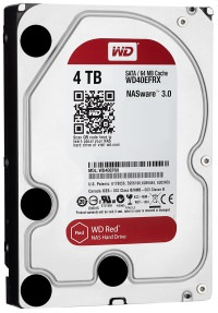WD Red Intellipower 64MB 4 TB SATA3 Harddisk WD40EFRX