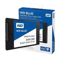 """WD Blue 2.5"""" 500GB SATA3 560/530 SSD - WDS500G2B0A"""