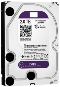 "WD WD20PURX 2TB Intellipower Purple 3.5"" Sata3 64Mb 7/24 Harddisk"