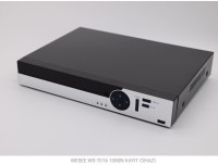 WESEE WS-7016N 16 KANAL XVR AHD 2SES 2*HDD  V-OUT + 2 SES + 2 X 6TB KAYIT CİHAZI
