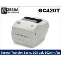 Zebra Gc420t Direkt Termal Barkod Yazıcı